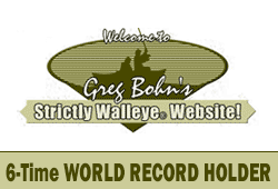 Greg Bohn – Strictly Walleye – Guide Service Fishing in Northwoods Wisconsin